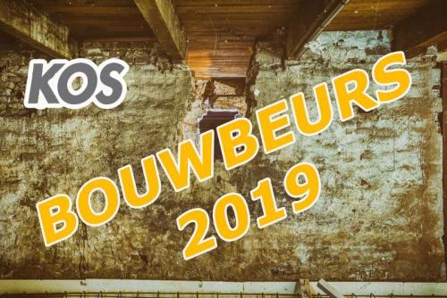 Bedrijvenbeurs De KOS Bouw Beurs 2019.